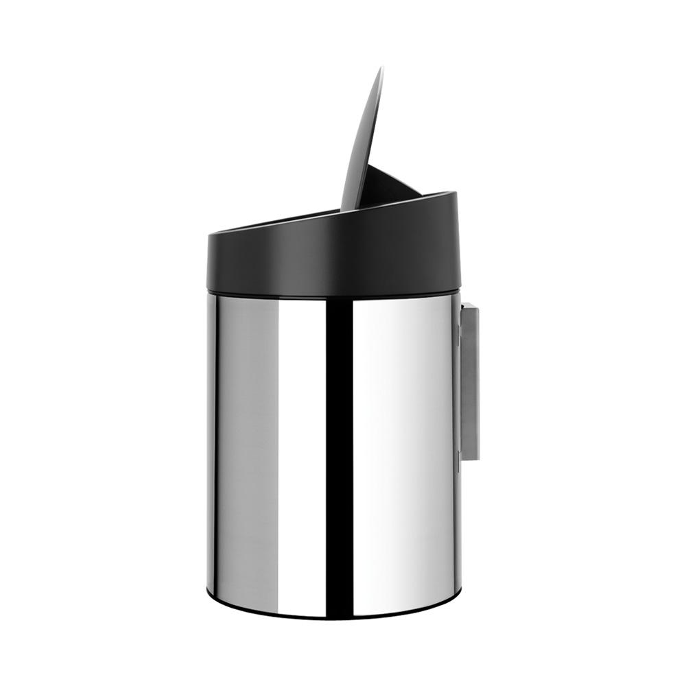 Кош за смет Brabantia Slide 5L, Brilliant Steel(6)