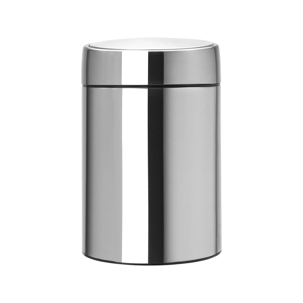 Кош за смет Brabantia Slide 5L, Matt Steel Fingerprint Proof