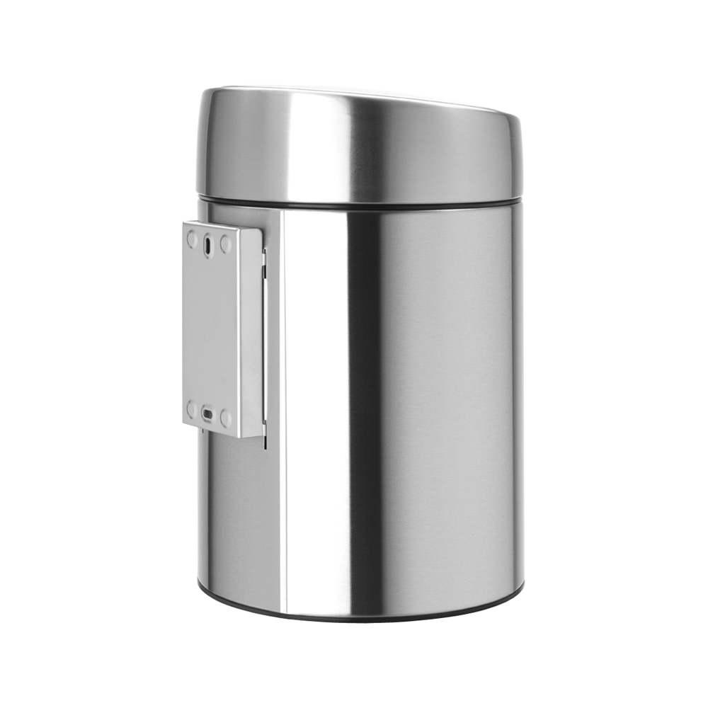 Кош за смет Brabantia Slide 5L, Matt Steel Fingerprint Proof(3)