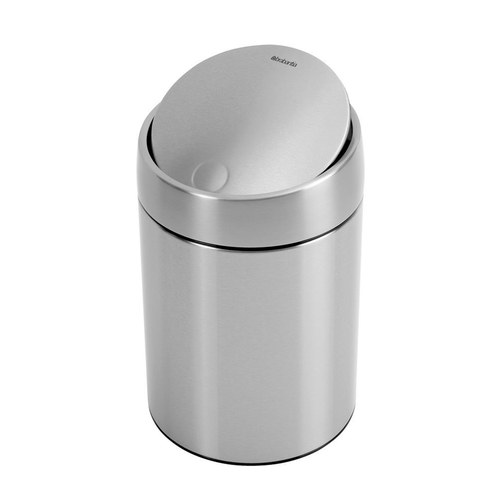 Кош за смет Brabantia Slide 5L, Matt Steel Fingerprint Proof(4)