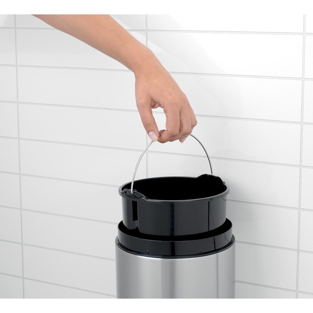 Кош за смет Brabantia Slide 5L, Black (7)
