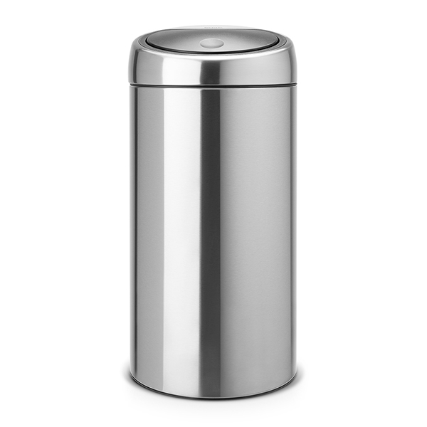 Кош за смет Brabantia Touch Bin 2x20L, Matt Steel Fingerprint Proof