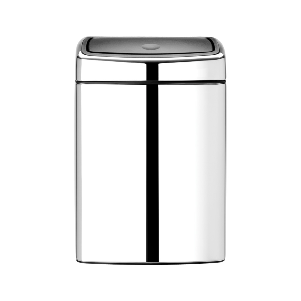 Кош за смет Brabantia Touch Bin 10L, Brilliant Steel
