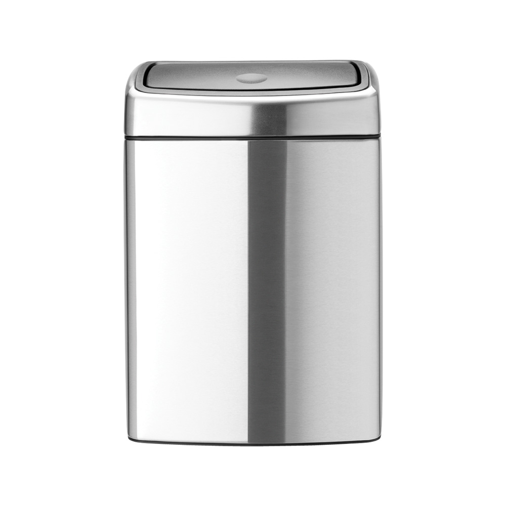 Кош за смет Brabantia Touch Bin 10L, Matt Steel Fingerprint Proof