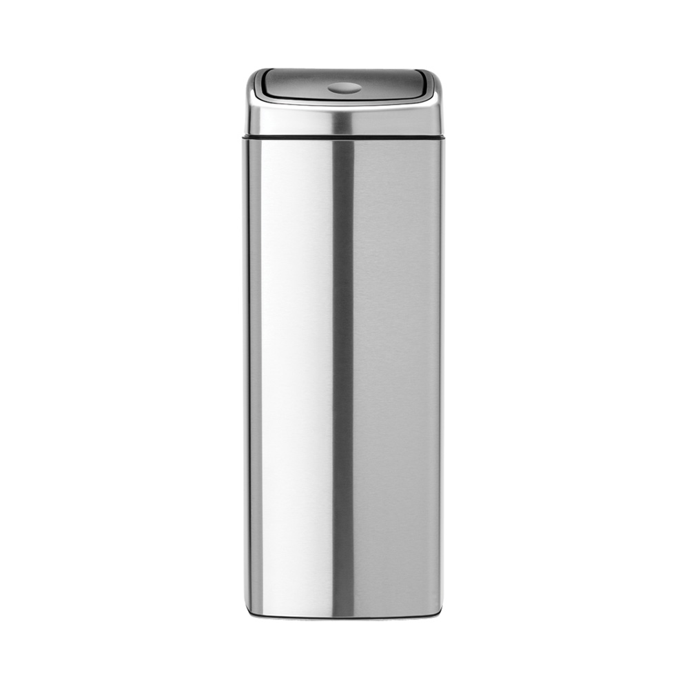 Кош за смет Brabantia Touch Bin 25L, Matt Steel Fingerprint Proof