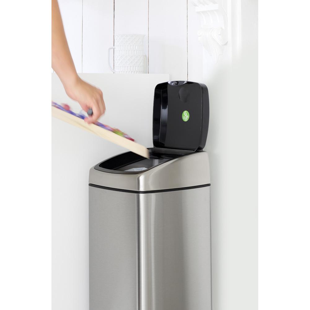 Кош за смет Brabantia Touch Bin 25L, Matt Steel Fingerprint Proof(11)