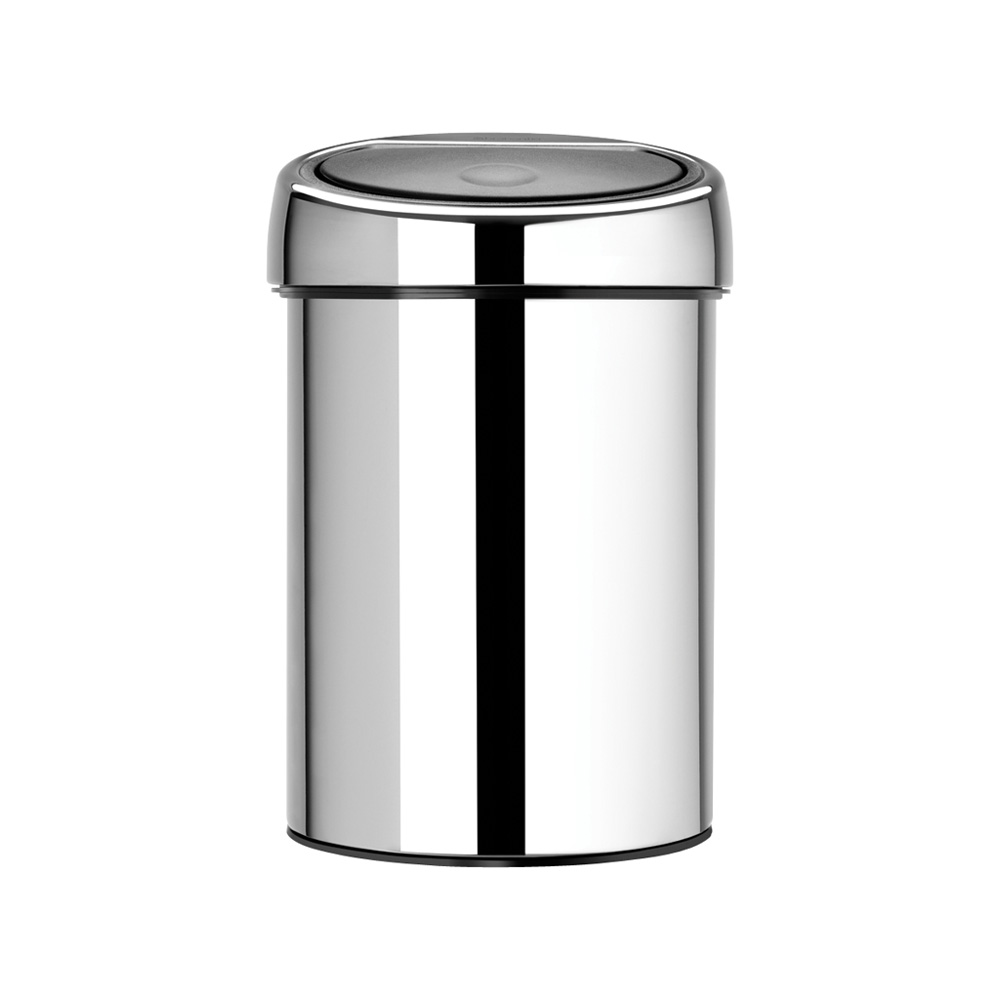 Кош за смет Brabantia Touch Bin 3L, Brilliant Steel