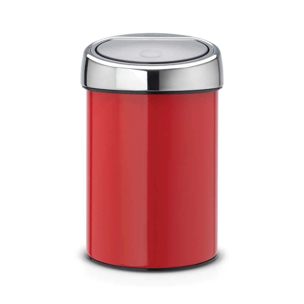 Кош за смет Brabantia Touch Bin 3L, Passion Red