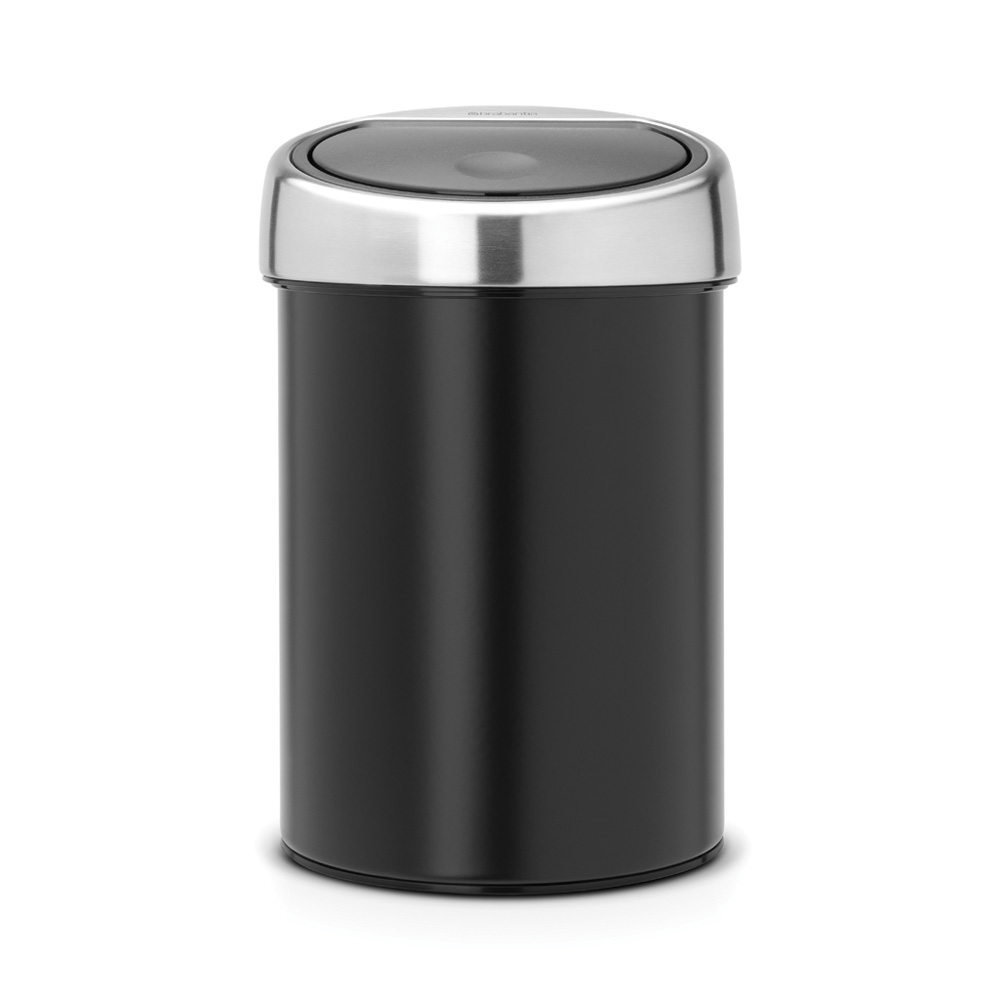 Кош за смет Brabantia Touch Bin 3L, Matt Black