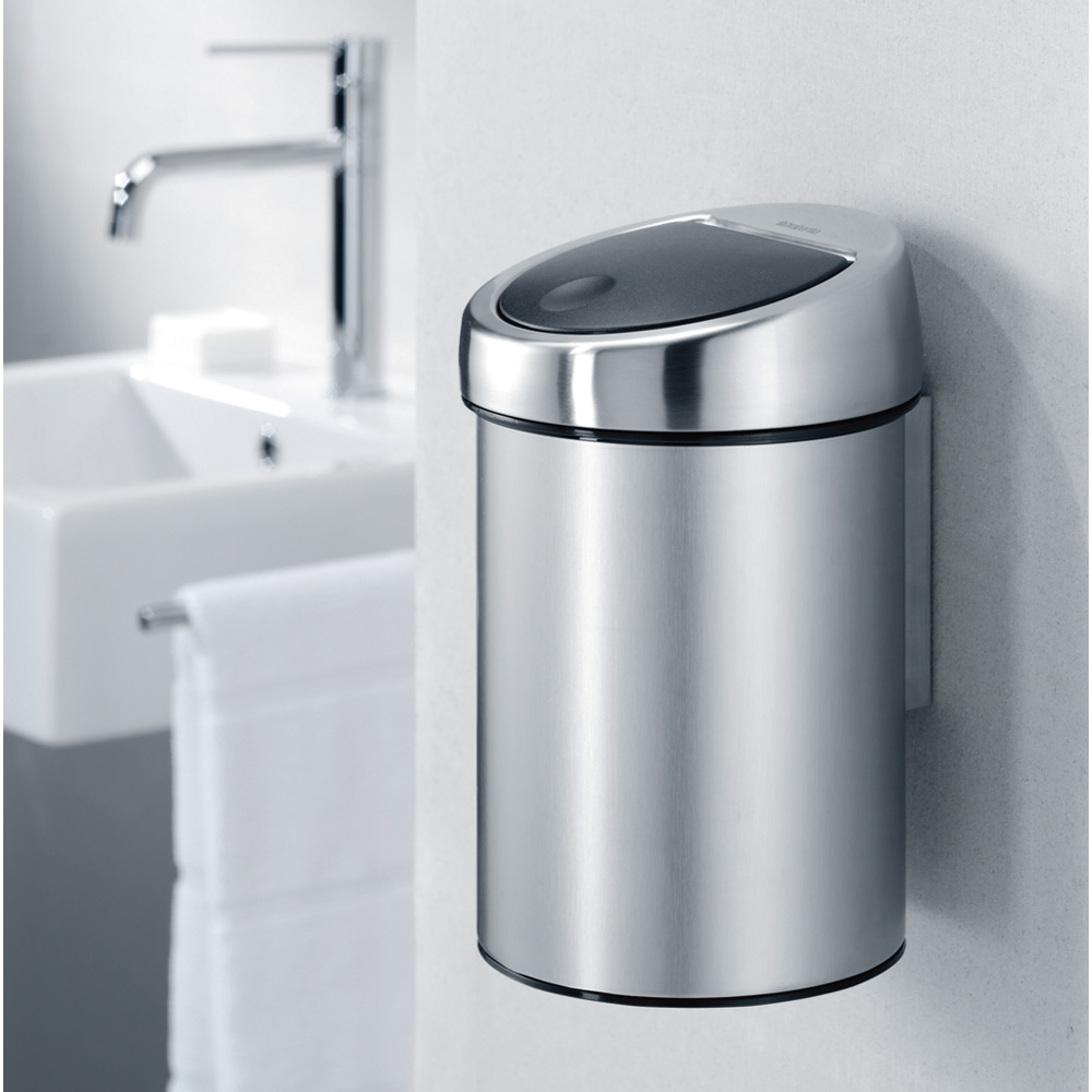 Кош за смет Brabantia Touch Bin 3L, Matt Black(7)