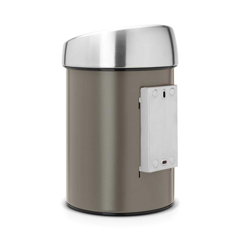 Кош за смет Brabantia Touch Bin 3L, Platinum(2)
