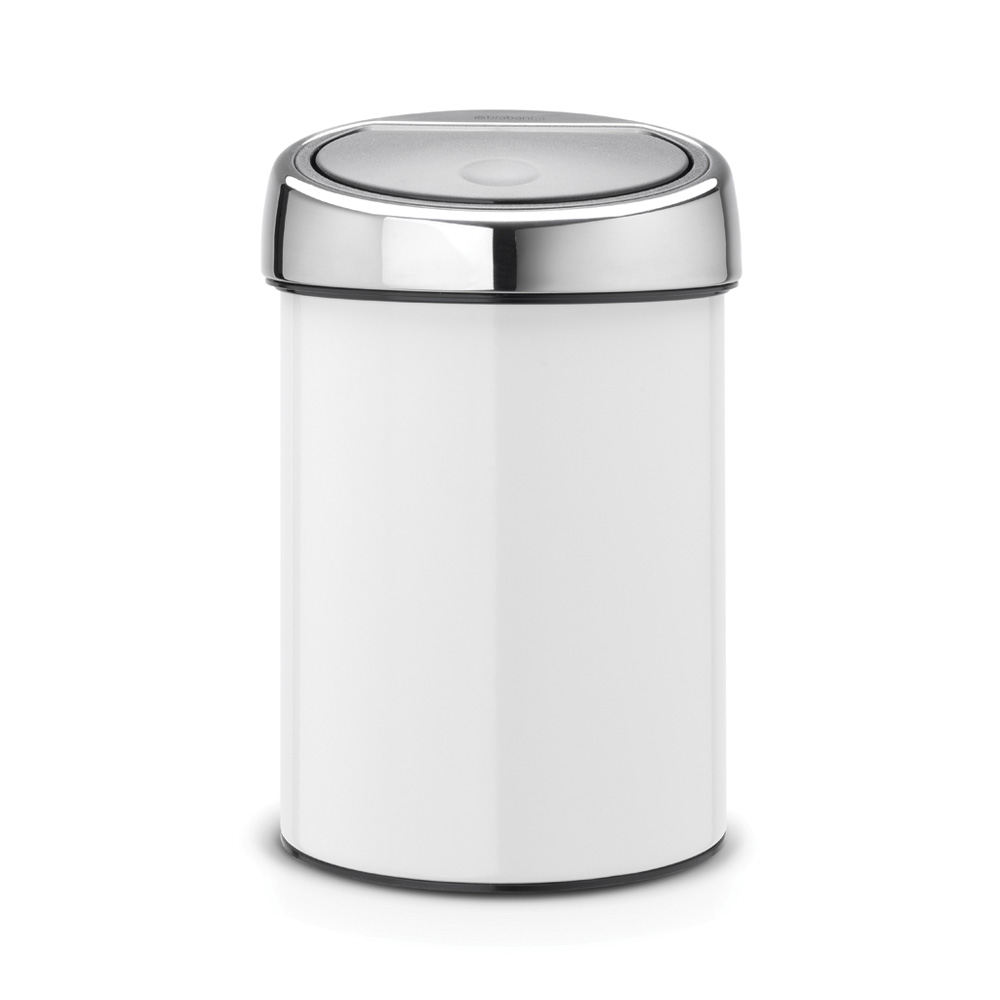 Кош за смет Brabantia Touch Bin 3L, White