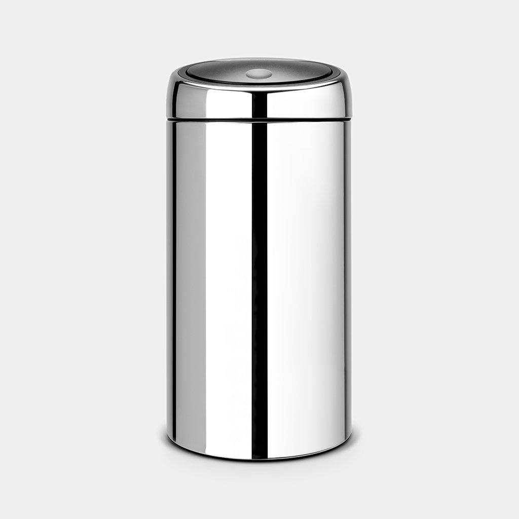 Кош за смет Brabantia Touch Bin 45L, Brilliant Steel