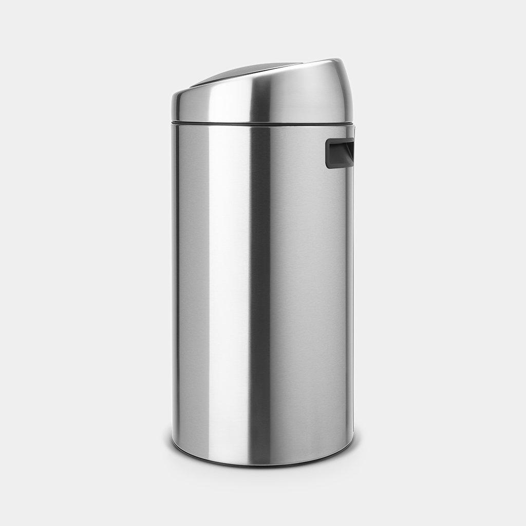 Кош за смет Brabantia Touch Bin 45L, Matt Steel Fingerprint Proof(1)