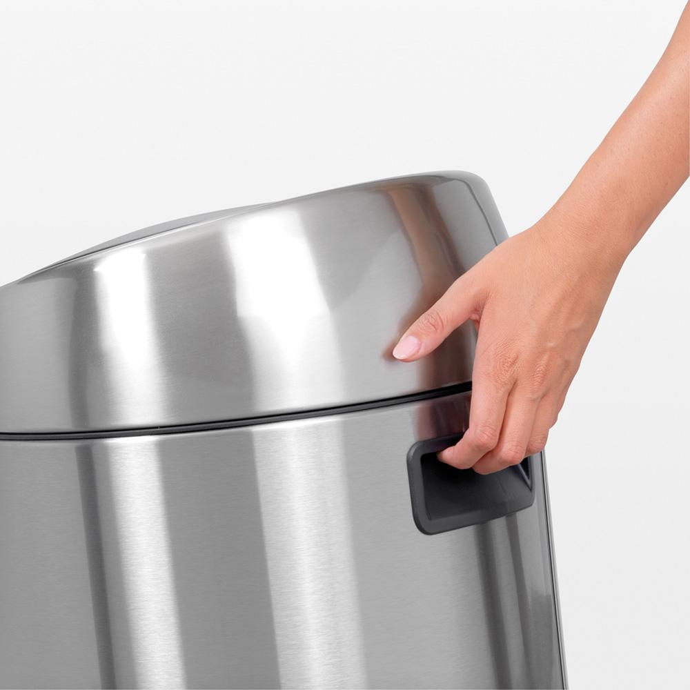 Кош за смет Brabantia Touch Bin 45L, Matt Steel Fingerprint Proof(3)