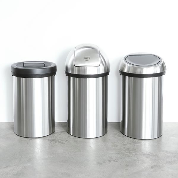 Кош за смет Brabantia Touch Bin 60L, Metallic Grey (3)