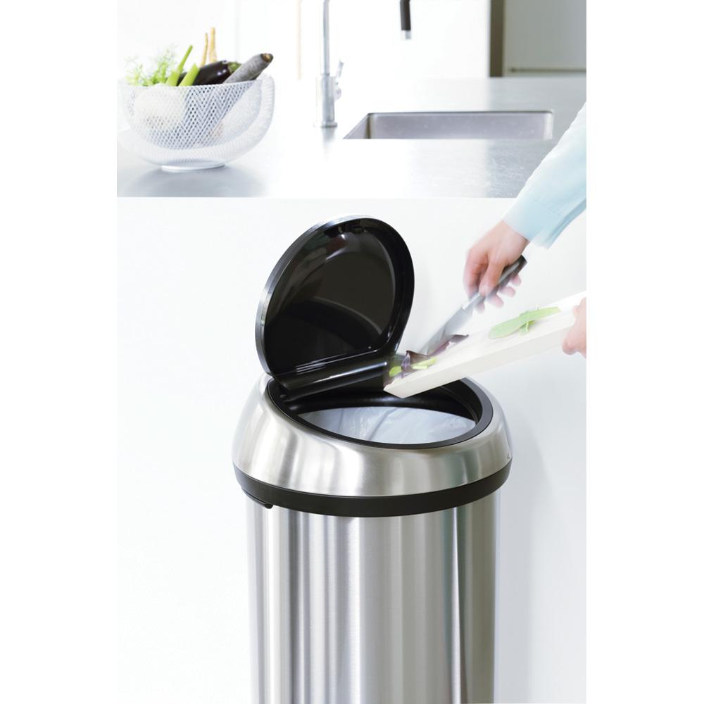 Кош за смет Brabantia Touch Bin 60L, Metallic Grey (7)
