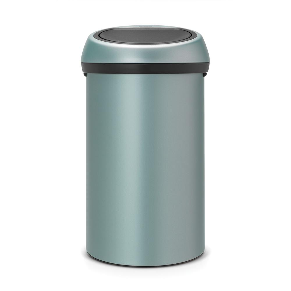 Кош за смет Brabantia Touch Bin 60L, Metallic Mint