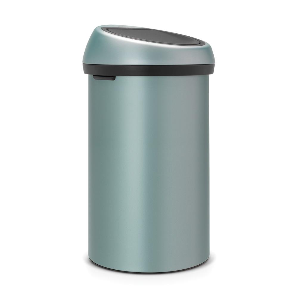 Кош за смет Brabantia Touch Bin 60L, Metallic Mint(1)