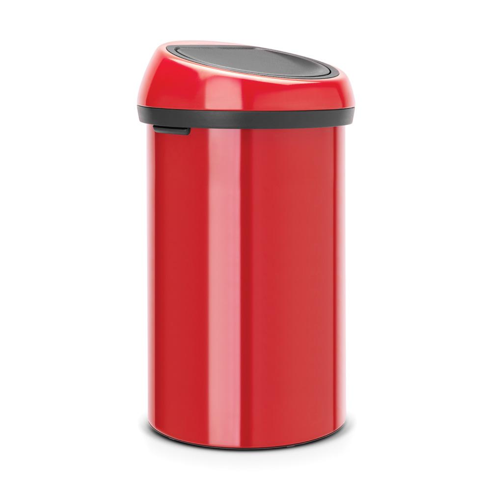 Кош за смет Brabantia Touch Bin 60L, Passion Red (1)
