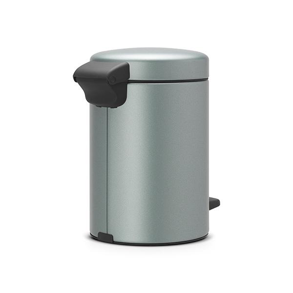 Кош за смет с педал Brabantia NewIcon 3L, Metallic Mint(2)