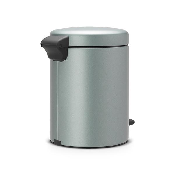 Кош за смет с педал Brabantia NewIcon 5L, Metallic Mint(2)