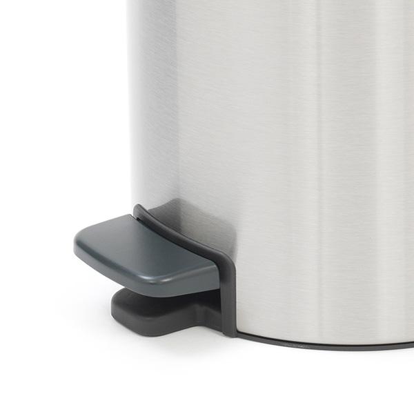 Кош за смет с педал Brabantia NewIcon 5L, Matt Steel Fingerprint Proof(4)