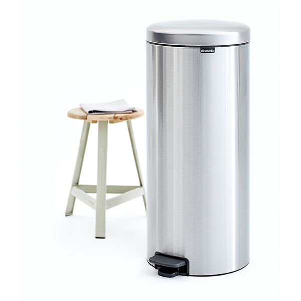 Кош за смет с педал Brabantia NewIcon 30L, Matt Steel Fingerprint Proof(6)