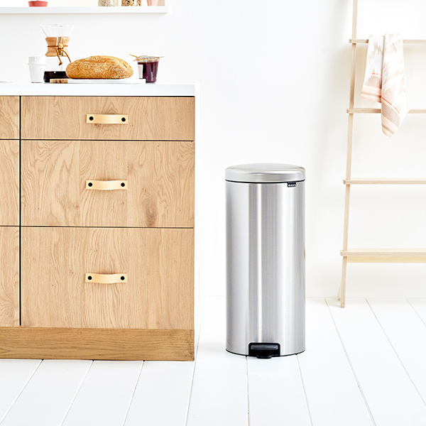 Кош за смет с педал Brabantia NewIcon 30L, Matt Steel Fingerprint Proof(7)