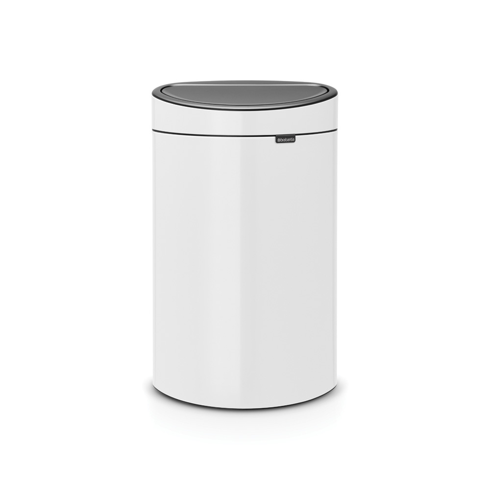 Кош за смет Brabantia Touch Bin New 40L, White