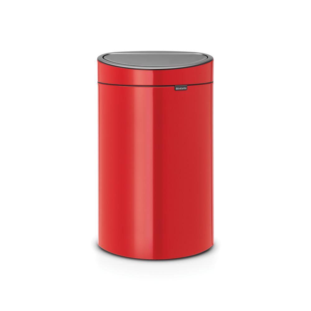 Кош за смет Brabantia Touch Bin New 40L, Passion Red
