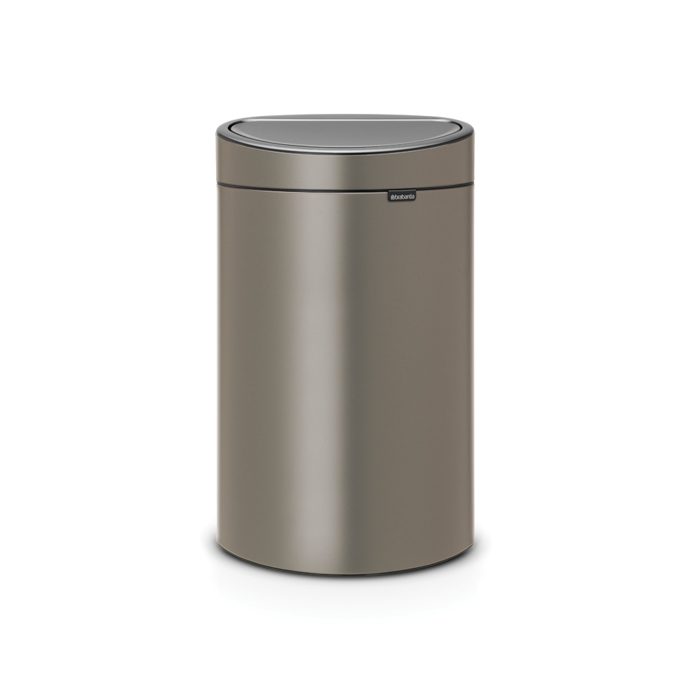Кош за смет Brabantia Touch Bin New 40L, Platinum