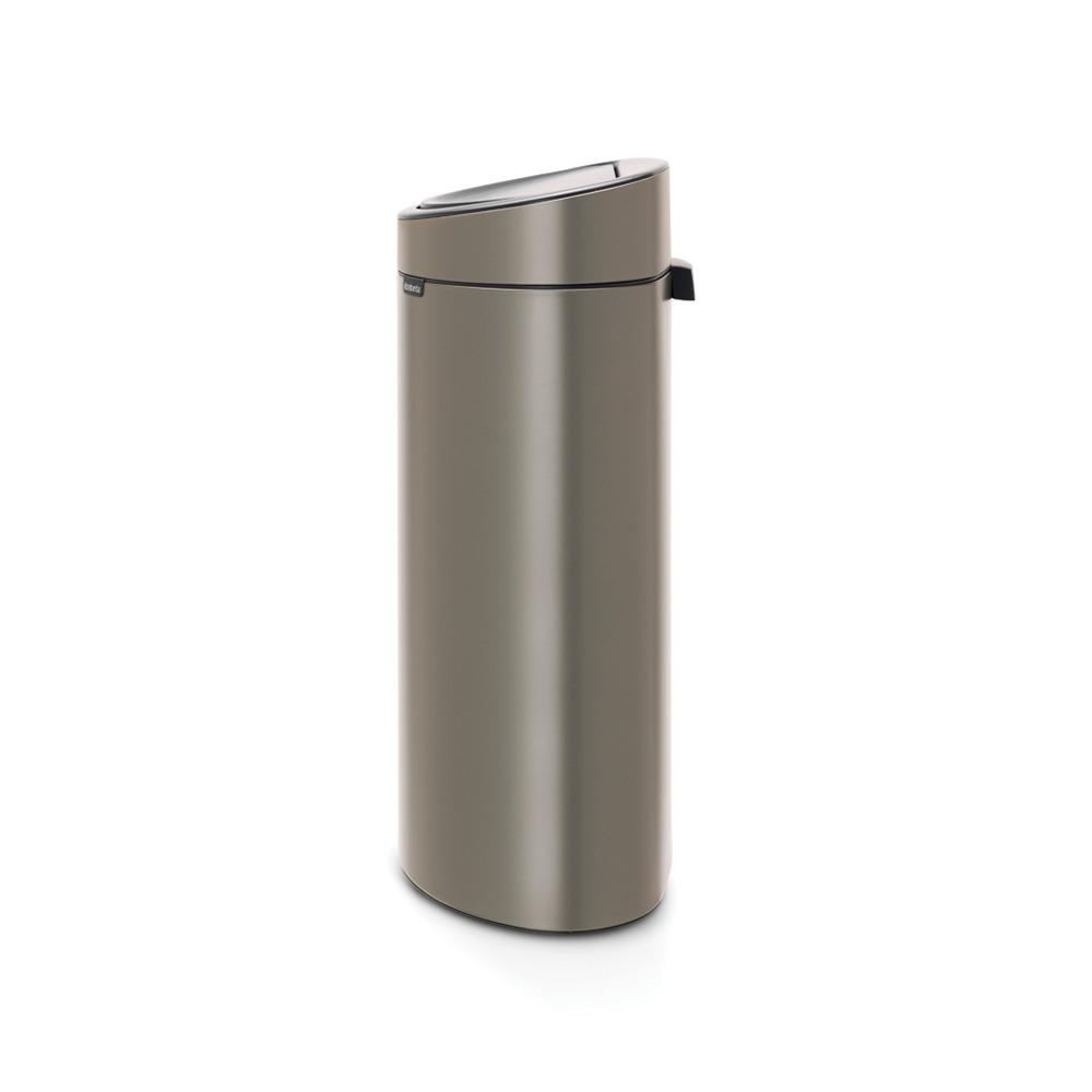 Кош за смет Brabantia Touch Bin New 40L, Platinum(1)