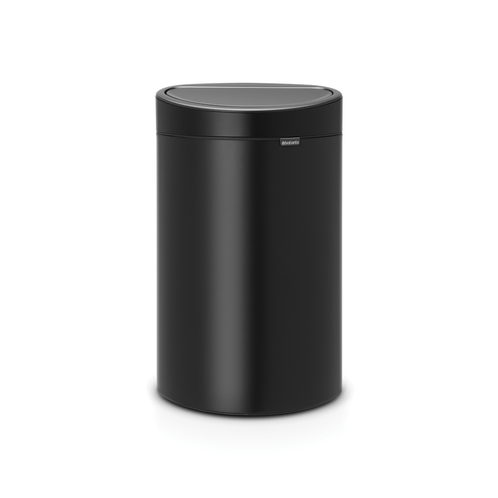 Кош за смет Brabantia Touch Bin New 40L, Matt Black