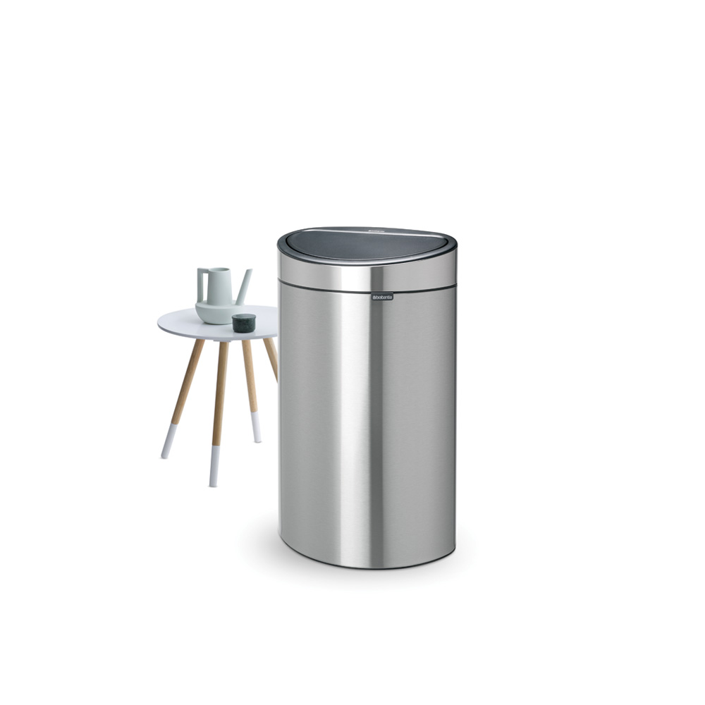 Кош за смет Brabantia Touch Bin New 40L, Matt Steel Fingerprint Proof(4)