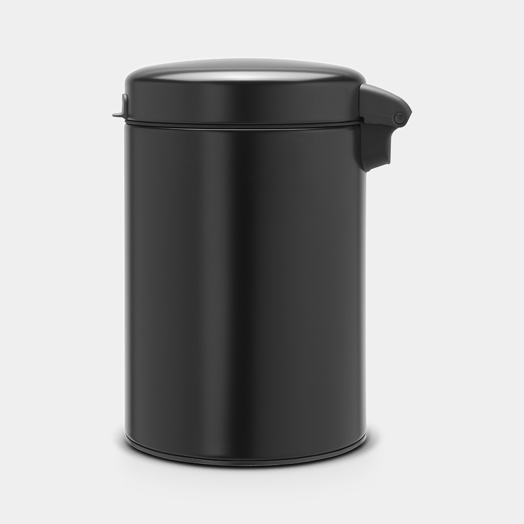 Кош за смет Brabantia NewIcon 3L, Metal Black, стенен монтаж(3)