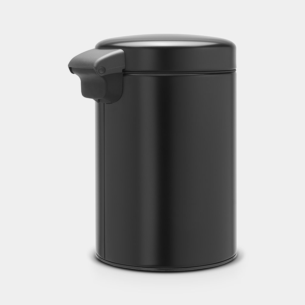 Кош за смет Brabantia NewIcon 3L, Metal Black, стенен монтаж(4)