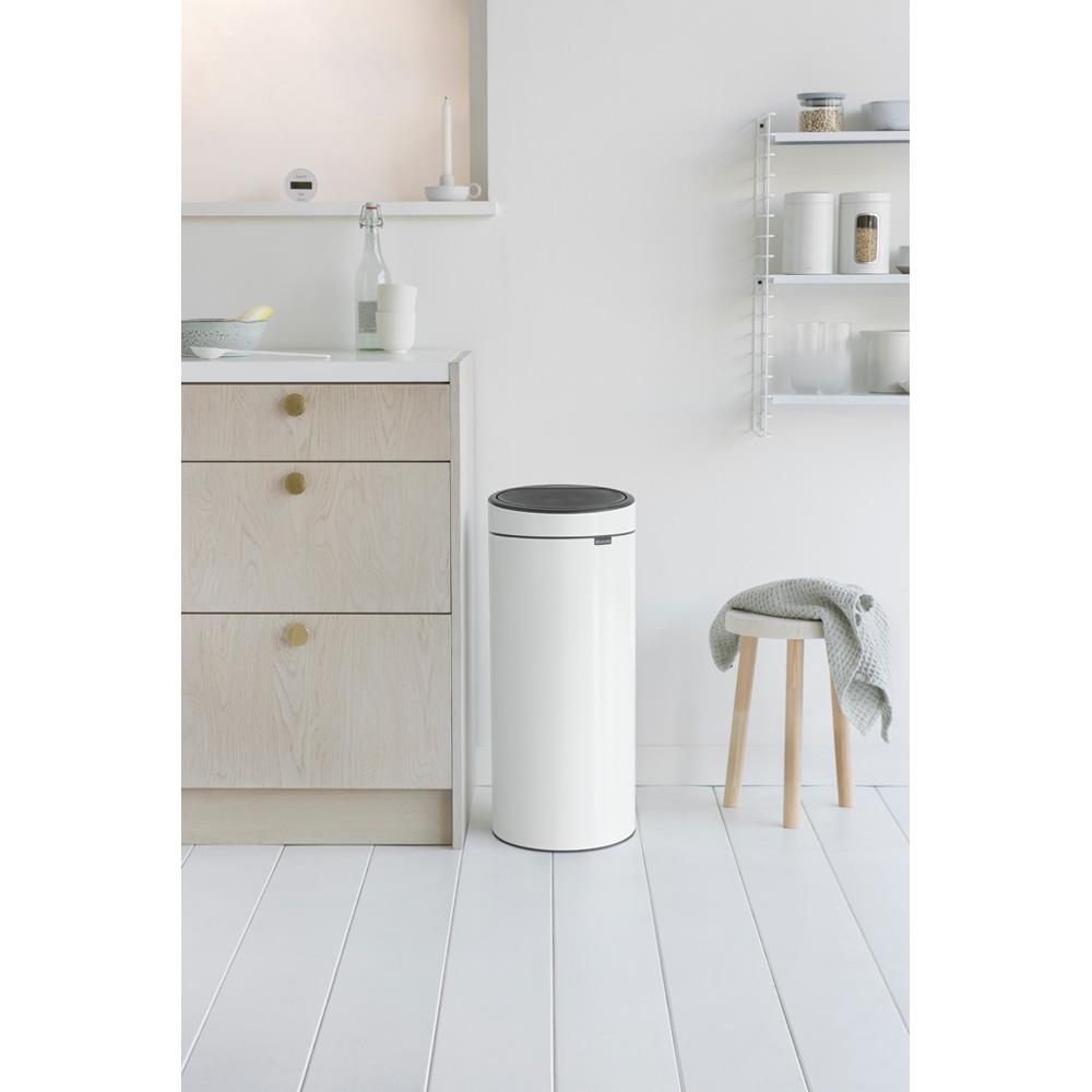 Кош за смет Brabantia Touch Bin New 30L, White(4)