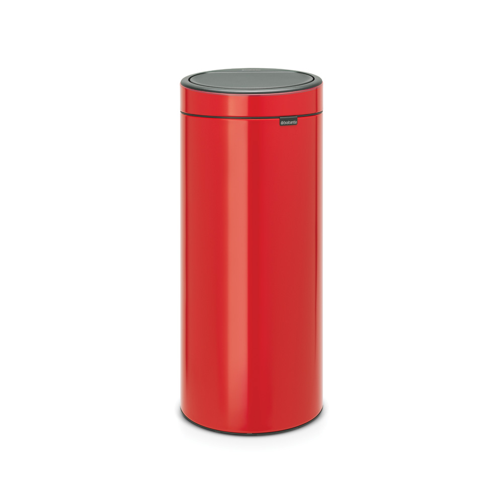 Кош за смет Brabantia Touch Bin New 30L, Passion Red