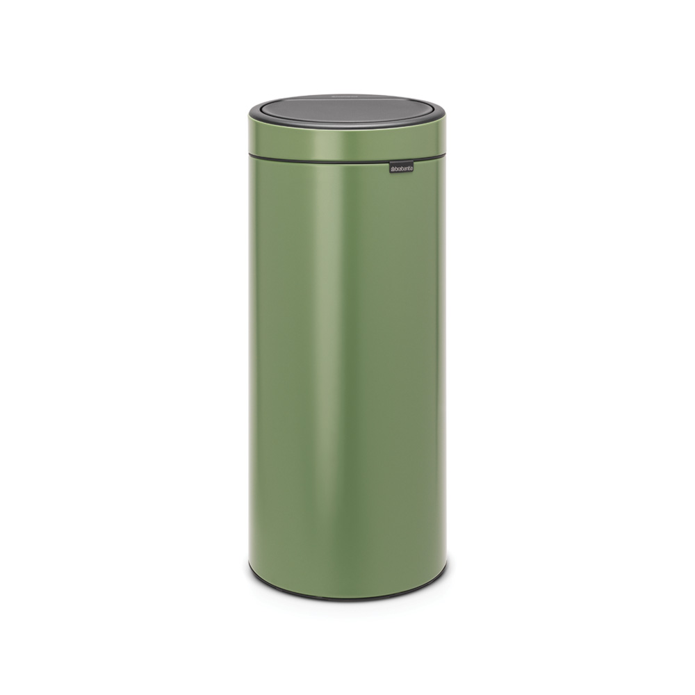Кош за смет Brabantia Touch Bin New 30L, Moss Green