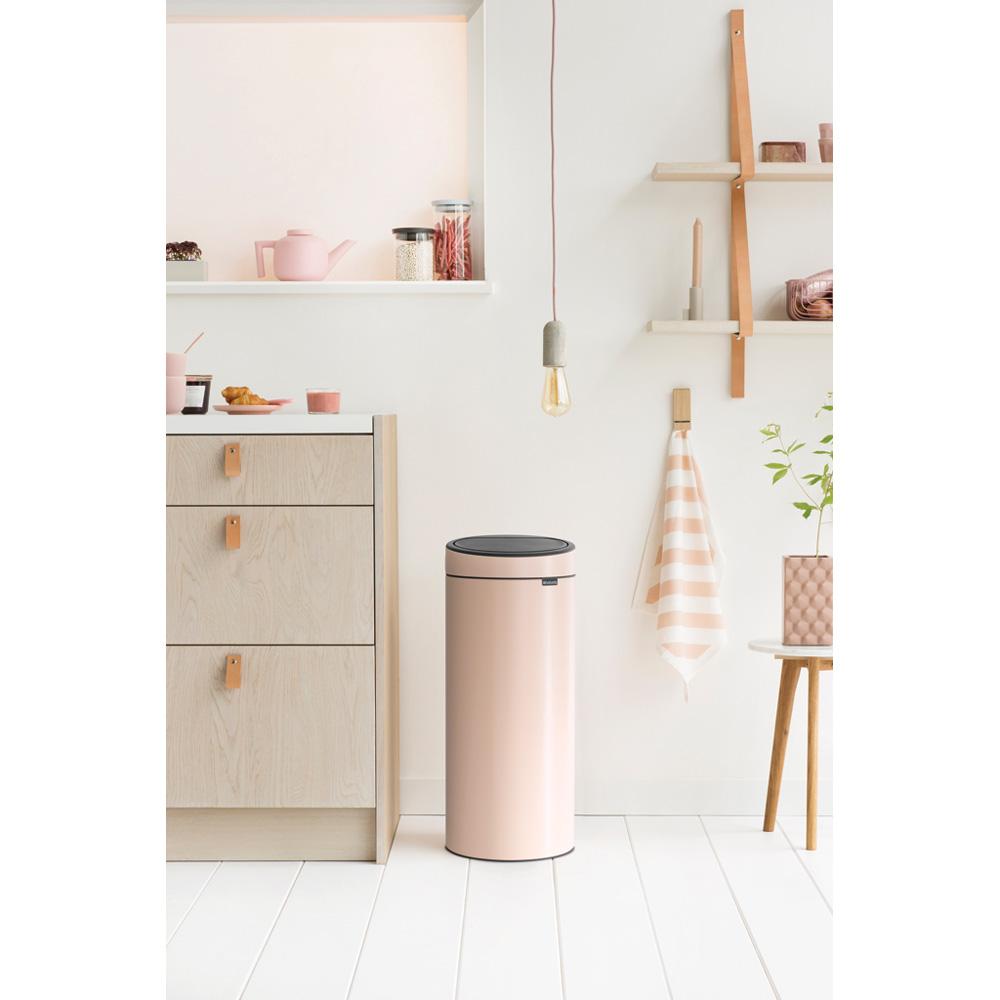 Кош за смет Brabantia Touch Bin New 30L, Clay Pink(4)