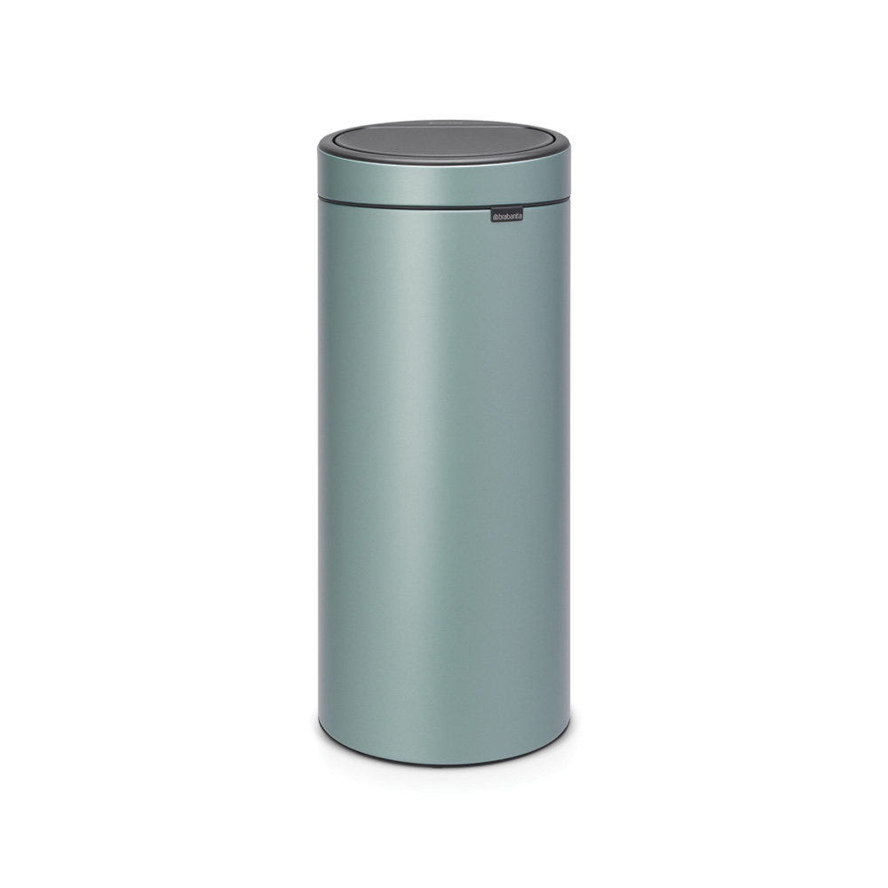 Кош за смет Brabantia Touch Bin New 30L, Metallic Mint