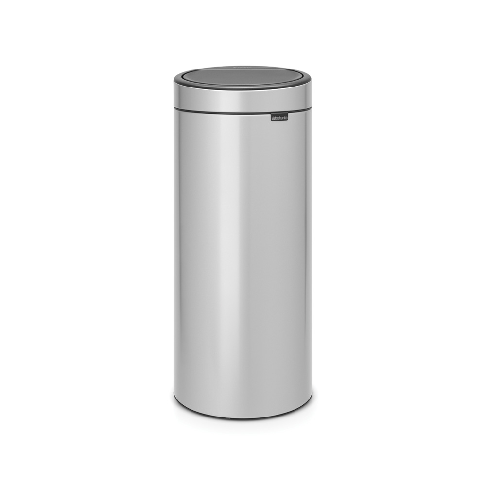 Кош за смет Brabantia Touch Bin New 30L, Metallic Grey