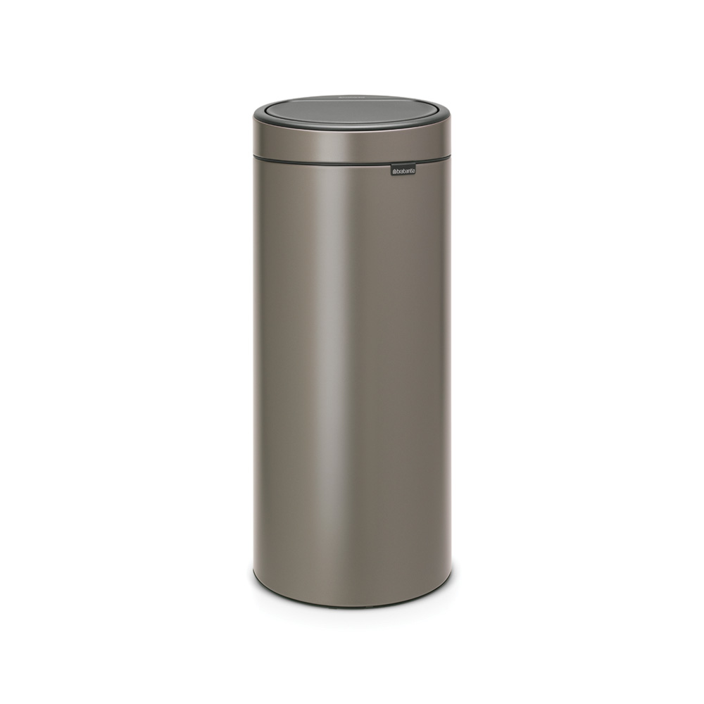 Кош за смет Brabantia Touch Bin New 30L, Platinum