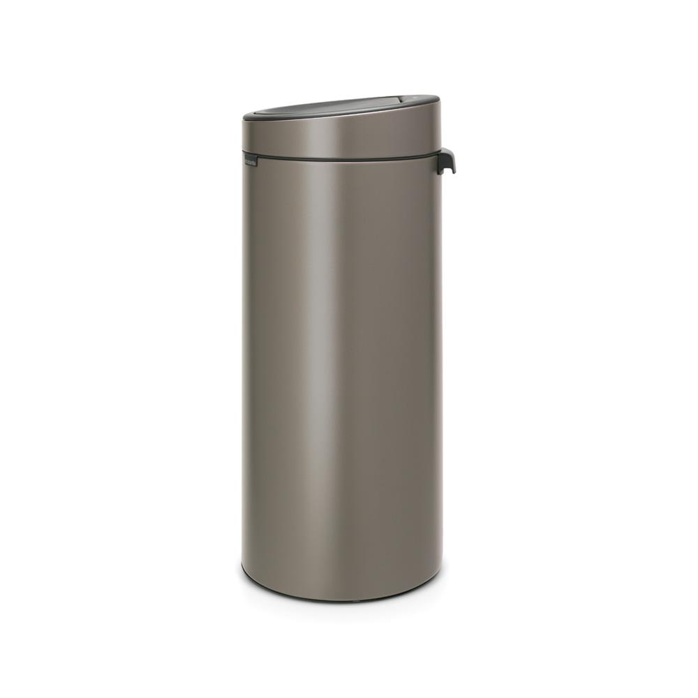 Кош за смет Brabantia Touch Bin New 30L, Platinum(1)