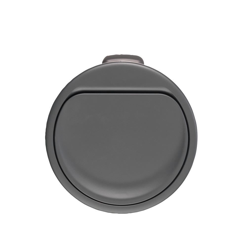 Кош за смет Brabantia Touch Bin New 30L, Matt Black, капак металик(3)