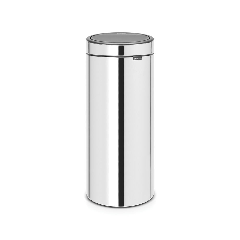 Кош за смет Brabantia Touch Bin New 30L, Brilliant Steel