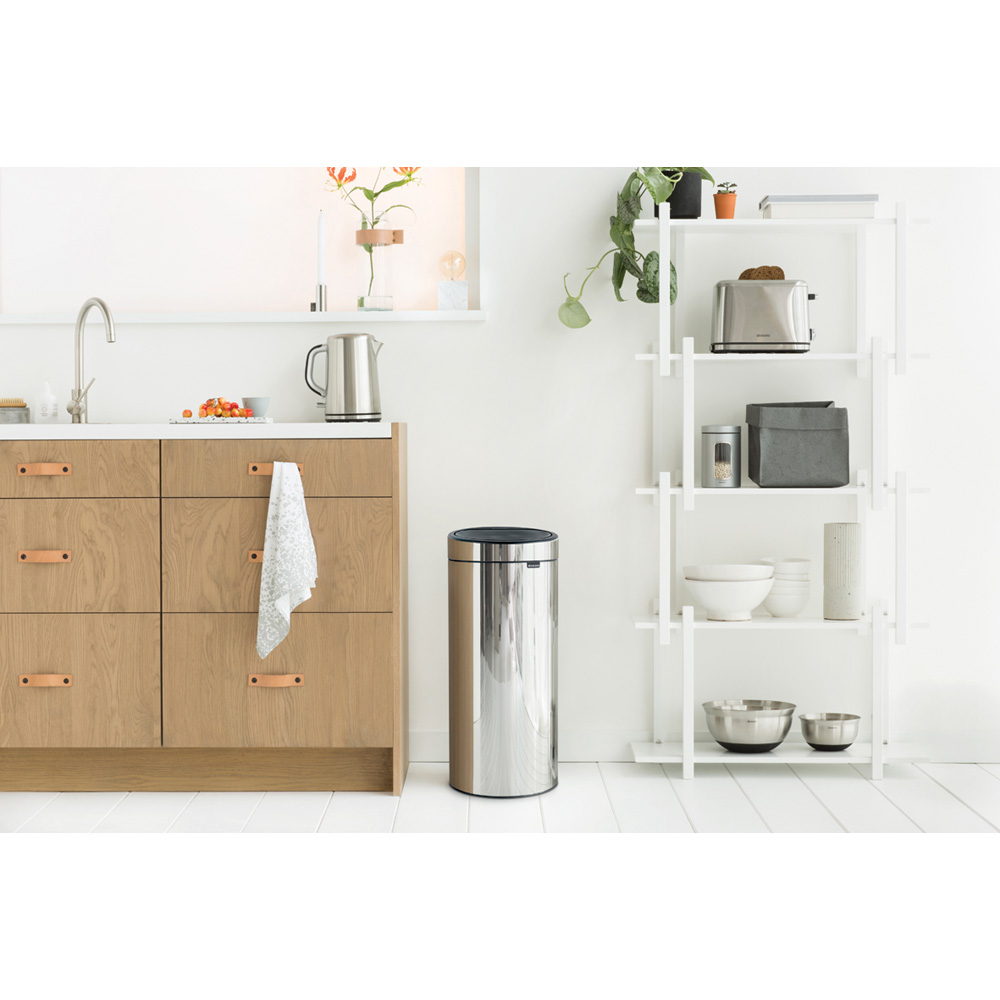 Кош за смет Brabantia Touch Bin New 30L, Brilliant Steel(4)