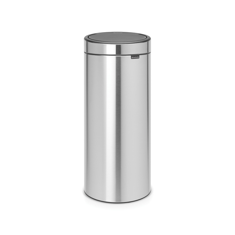 Кош за смет Brabantia Touch Bin New 30L, Matt Steel