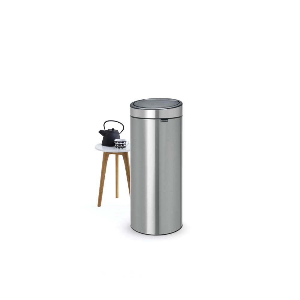 Кош за смет Brabantia Touch Bin New 30L, Matt Steel(4)